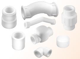 PP-R Plastik Ek Parçalar rev